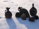 кераміка на снігу