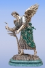 Небесный Жнец  бронза , мрамор 56х32х17  2010 г. 2Озюменко Петр