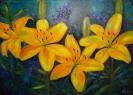 Лилии цвета солнца