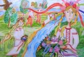 Нову традицію започаткувала Київська дитяча Академія мистецтв.