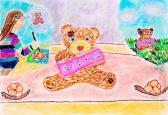 Виставка дитячих робіт « Я малюю іграшку».